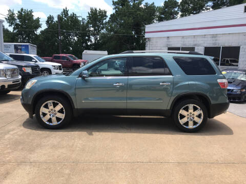 2010 GMC Acadia for sale at Northwood Auto Sales in Northport AL
