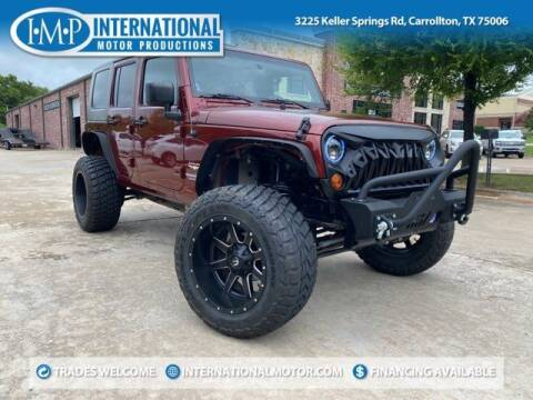2010 Jeep Wrangler Unlimited for sale at International Motor Productions in Carrollton TX