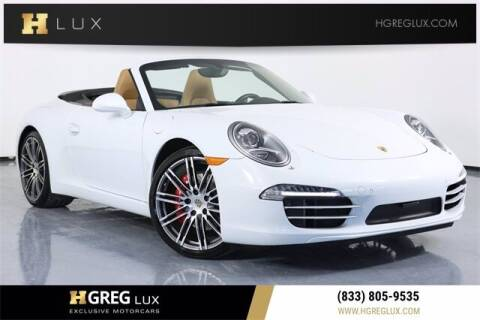 2015 Porsche 911 for sale at HGREG LUX EXCLUSIVE MOTORCARS in Pompano Beach FL