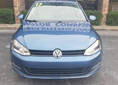 2017 Volkswagen Golf for sale at Greenville Motor Company in Greenville NC