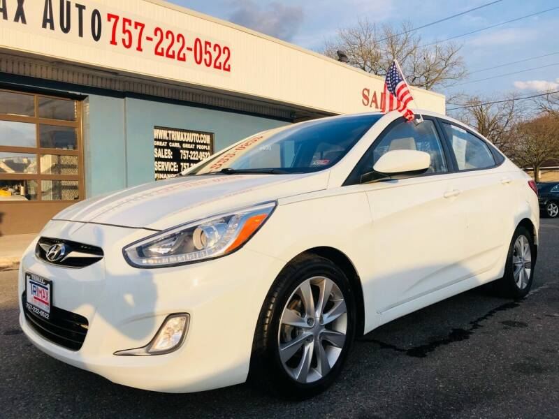 2014 Hyundai Accent for sale at Trimax Auto Group in Norfolk VA