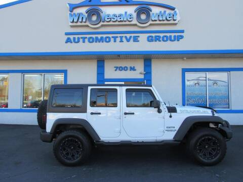 2014 Jeep Wrangler Unlimited for sale at The Wholesale Outlet in Blackwood NJ