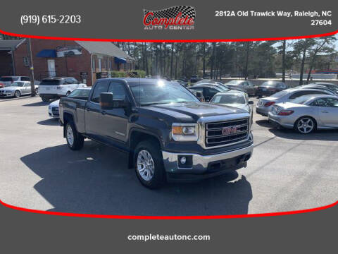 2015 GMC Sierra 1500 for sale at Complete Auto Center , Inc in Raleigh NC