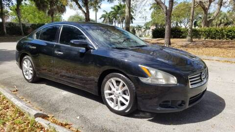 2014 Nissan Maxima for sale at DELRAY AUTO MALL in Delray Beach FL