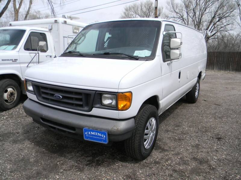 2007 Ford E-Series Cargo for sale at Cimino Auto Sales in Fountain CO