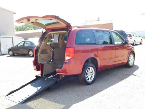 2014 Dodge Grand Caravan for sale at Macrocar Sales Inc in Akron OH