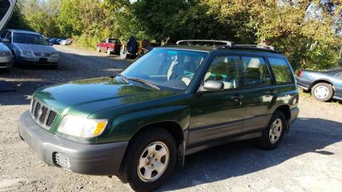 2002 Subaru Forester for sale at D & M Auto Sales & Repairs INC in Kerhonkson NY