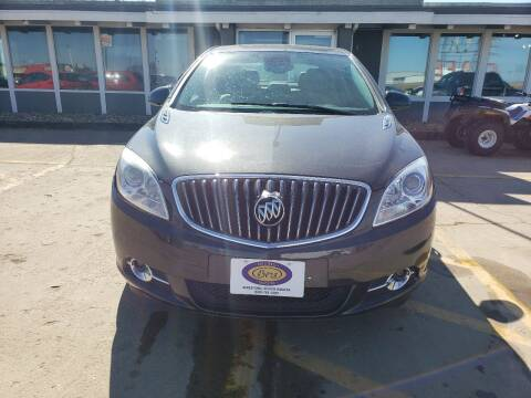 2017 Buick Verano for sale at BERG AUTO MALL & TRUCKING INC in Beresford SD