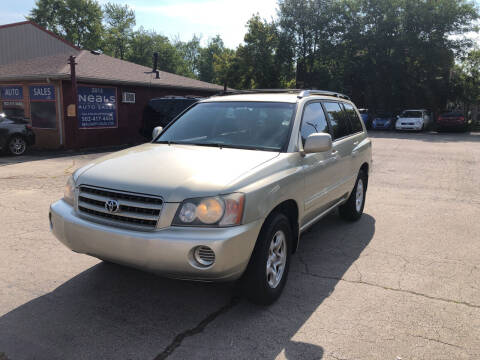 2003 Toyota Highlander for sale at Neals Auto Sales in Louisville KY