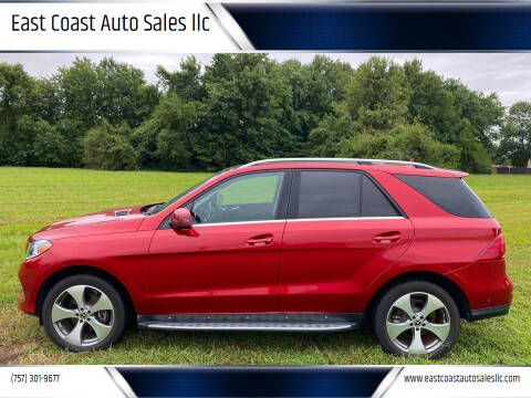 2018 Mercedes-Benz GLE for sale at East Coast Auto Sales llc in Virginia Beach VA
