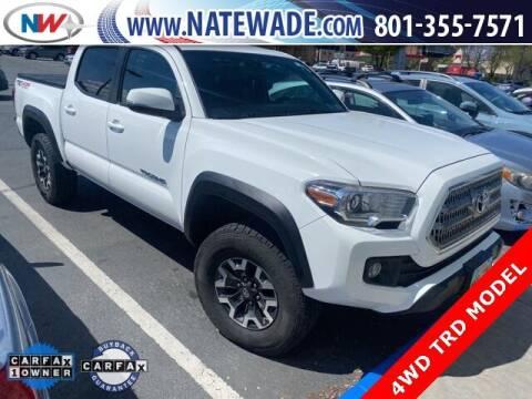 2017 Toyota Tacoma for sale at NATE WADE SUBARU in Salt Lake City UT