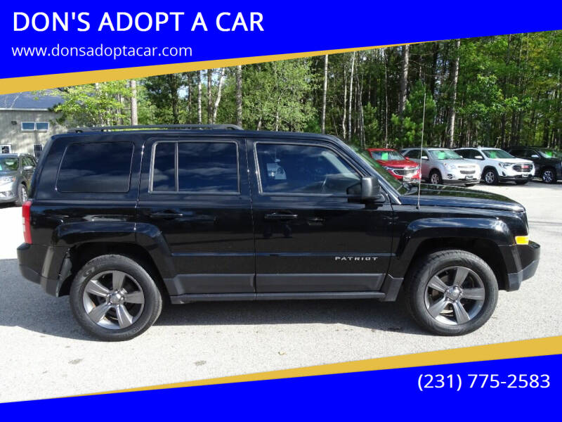 2015 Jeep Patriot for sale at DON'S ADOPT A CAR in Cadillac MI