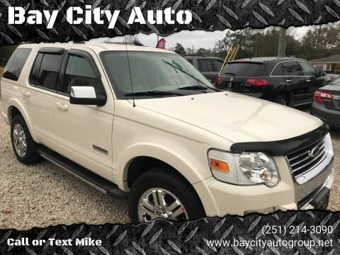 2008 Ford Explorer for sale at Bay City Auto's in Mobile AL