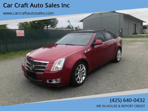 2009 Cadillac CTS for sale at Car Craft Auto Sales Inc in Lynnwood WA
