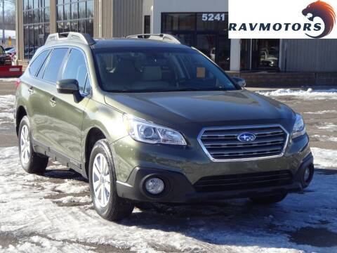 2017 Subaru Outback for sale at RAVMOTORS 2 in Crystal MN