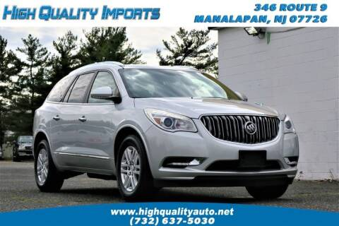 2014 Buick Enclave for sale at High Quality Imports in Manalapan NJ