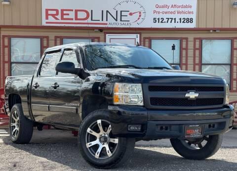 2007 Chevrolet Silverado 1500 for sale at REDLINE AUTO SALES LLC in Cedar Creek TX