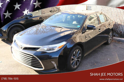 2016 Toyota Avalon for sale at Shah Jee Motors in Woodside NY
