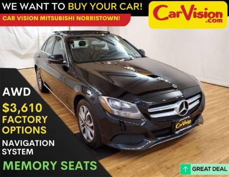 2017 Mercedes-Benz C-Class for sale at Car Vision Mitsubishi Norristown in Trooper PA