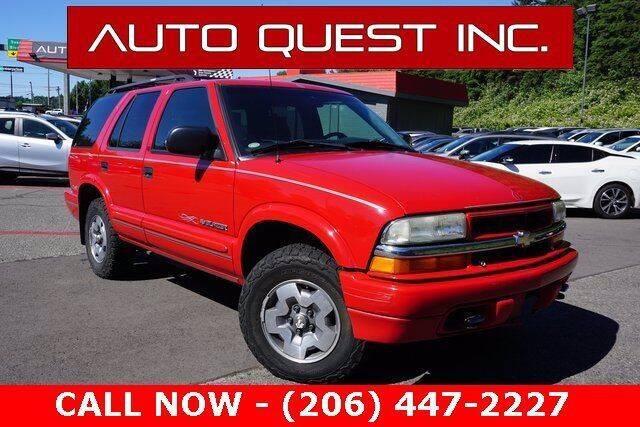 2003 Chevrolet Blazer for sale in Seattle, nul