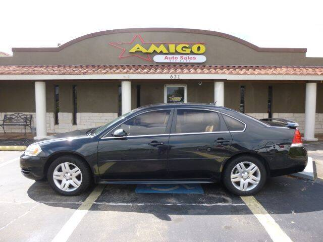 2012 Chevrolet Impala for sale at AMIGO AUTO SALES in Kingsville TX