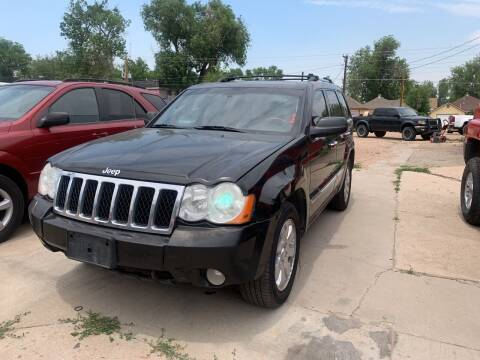2008 Jeep Grand Cherokee for sale at PYRAMID MOTORS AUTO SALES in Florence CO