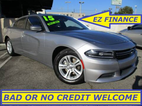 2015 Dodge Charger for sale at ALL STAR TRUCKS INC in Los Angeles CA