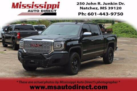 2017 GMC Sierra 1500 for sale at Auto Group South - Mississippi Auto Direct in Natchez MS