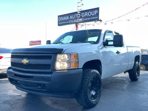 2012 Chevrolet Silverado 1500 for sale at Divan Auto Group in Feasterville PA
