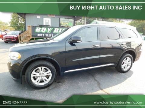 2013 Dodge Durango for sale at Buy Right Auto Sales Inc in Fort Wayne IN