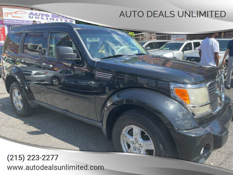 2009 Dodge Nitro for sale at AUTO DEALS UNLIMITED in Philadelphia PA