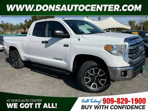 2017 Toyota Tundra for sale at Dons Auto Center in Fontana CA