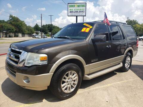 2008 Ford Expedition for sale at Shock Motors in Garland TX
