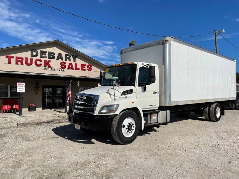 2014 Hino 268 for sale at DEBARY TRUCK SALES in Sanford FL