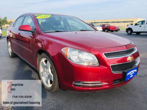 2010 Chevrolet Malibu for sale at Transportation Center Of Western New York in Niagara Falls NY