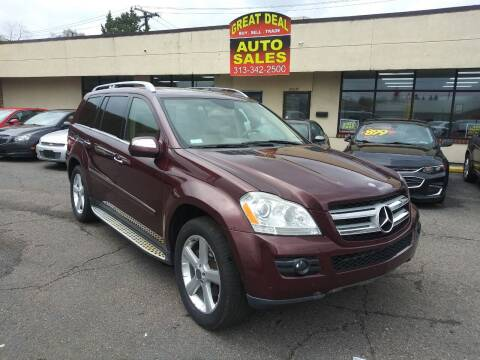 2009 Mercedes-Benz GL-Class for sale at GREAT DEAL AUTO SALES in Center Line MI