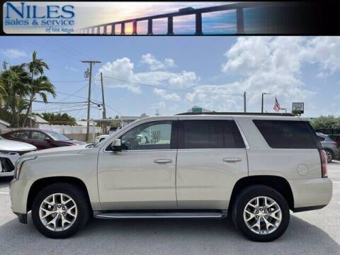 2015 GMC Yukon for sale at Niles Sales and Service in Key West FL