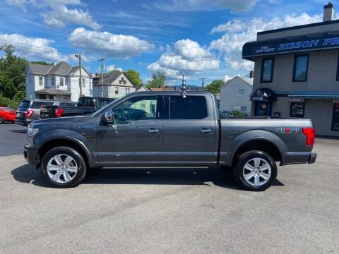 2019 Ford F-150 for sale at Sisson Pre-Owned in Uniontown PA