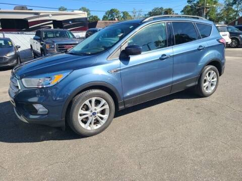 2018 Ford Escape for sale at PHIL SMITH AUTOMOTIVE GROUP - Tallahassee Ford Lincoln in Tallahassee FL