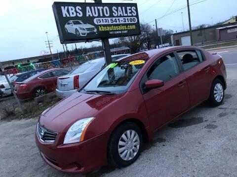 2012 Nissan Sentra for sale at KBS Auto Sales in Cincinnati OH
