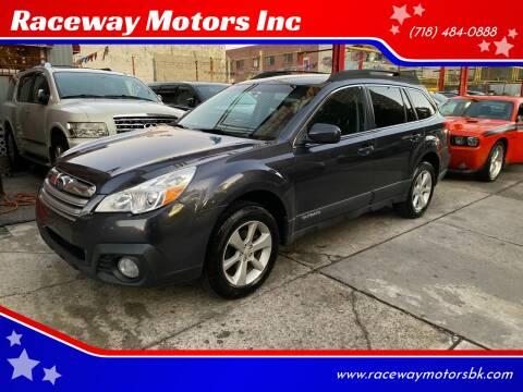 2013 Subaru Outback for sale at Raceway Motors Inc in Brooklyn NY