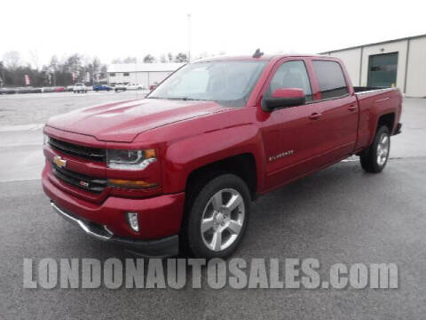 2018 Chevrolet Silverado 1500 for sale at London Auto Sales LLC in London KY