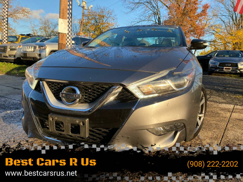2017 Nissan Maxima for sale at Best Cars R Us in Plainfield NJ