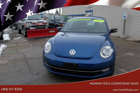 2013 Volkswagen Beetle for sale at Highway 100 & Loomis Road Sales in Franklin WI