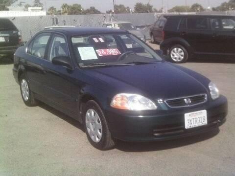 1998 Honda Civic for sale at Valley Auto Sales & Advanced Equipment in Stockton CA