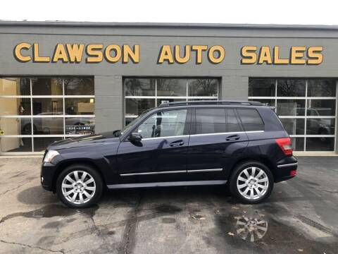2010 Mercedes-Benz GLK for sale at Clawson Auto Sales in Clawson MI