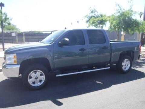 2012 Chevrolet Silverado 1500 for sale at J & E Auto Sales in Phoenix AZ