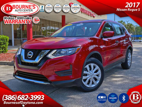 2017 Nissan Rogue for sale at Bourne's Auto Center in Daytona Beach FL