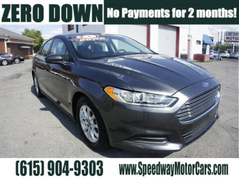 2015 Ford Fusion for sale at Speedway Motors in Murfreesboro TN