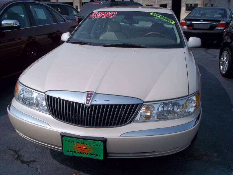 2002 Lincoln Continental for sale at JIMS AUTO MART INC in Milwaukee WI